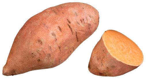 Cauliflower Steak and Sweet Potatoes with Za'atar
