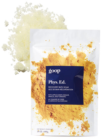 GOOP BODY recovery bath soak