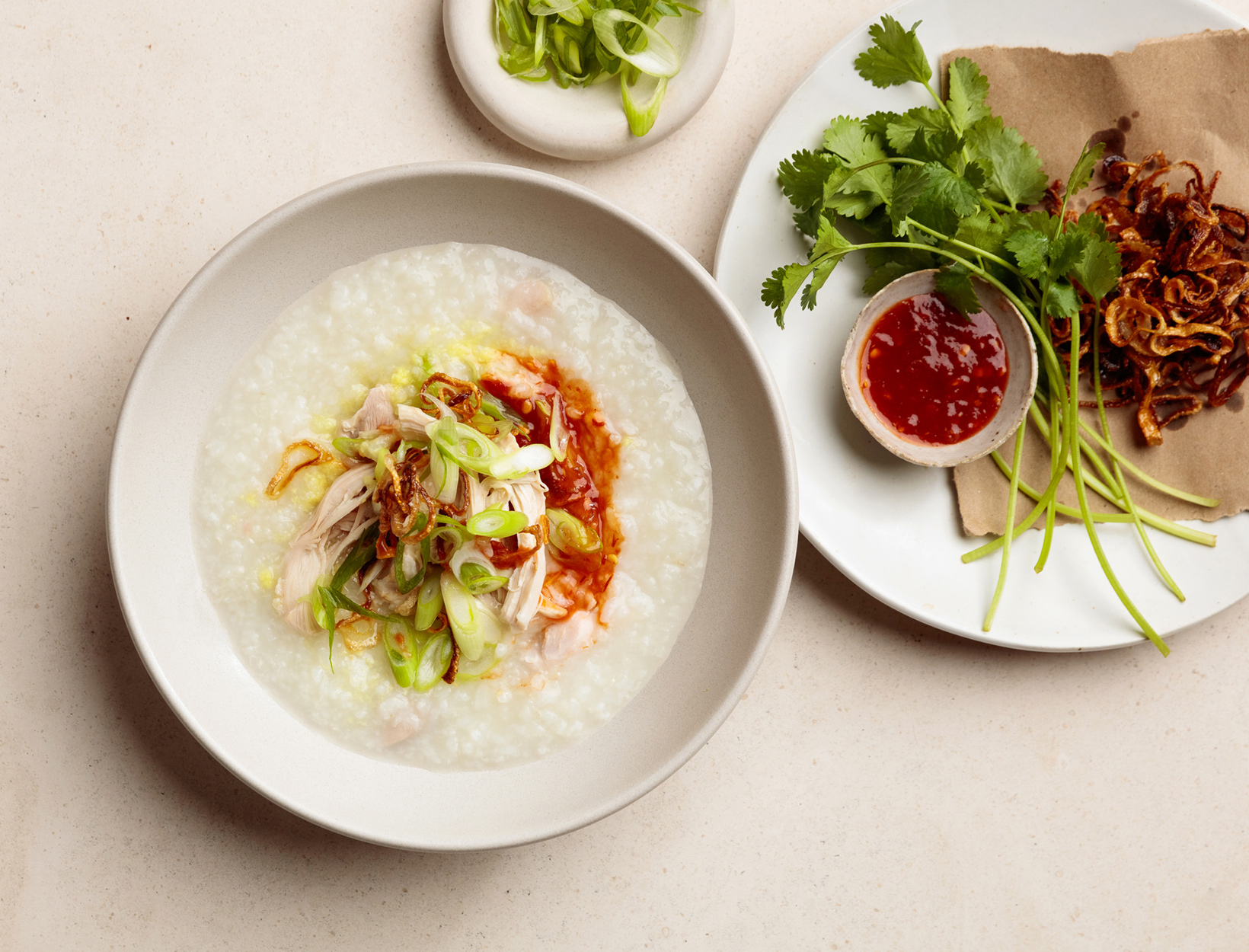 Ginger-Chicken Congee