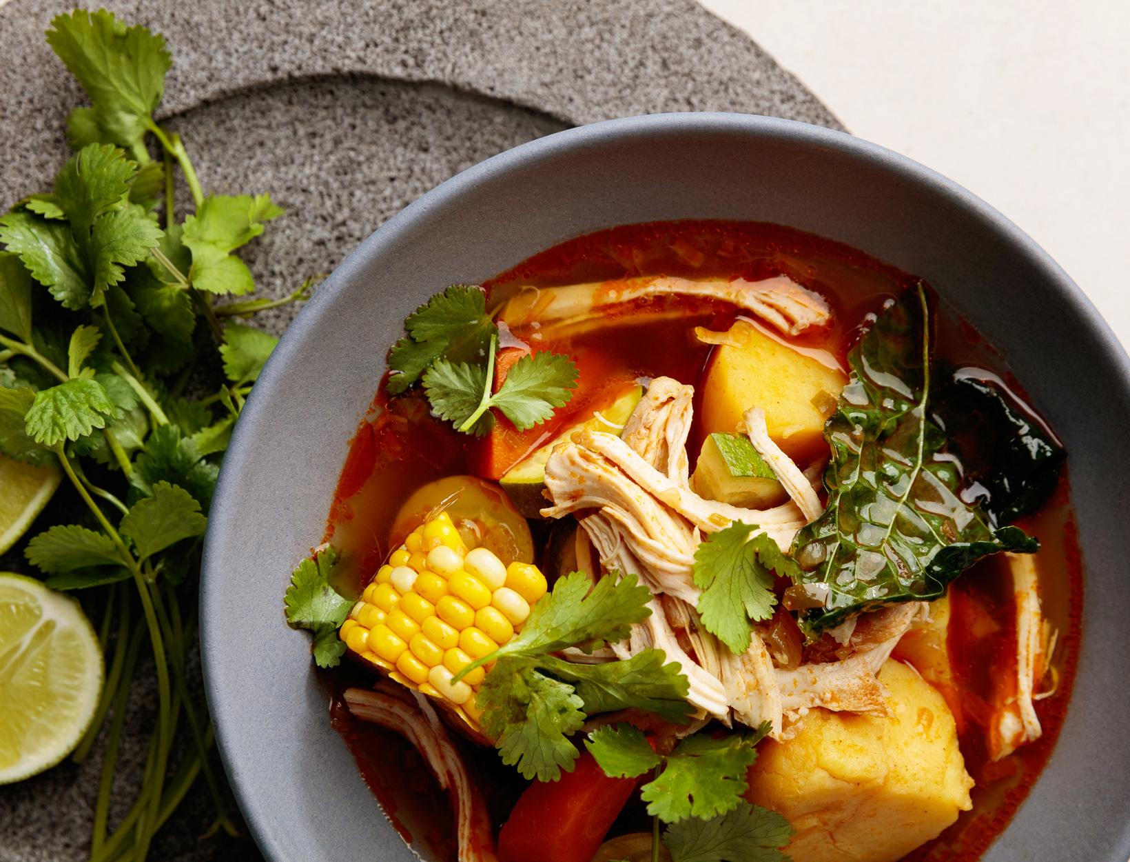 Hearty Chicken Sofrito Stew