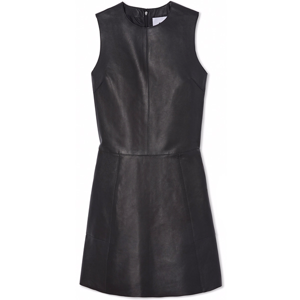 G. LABEL Frankie leather shift dress
