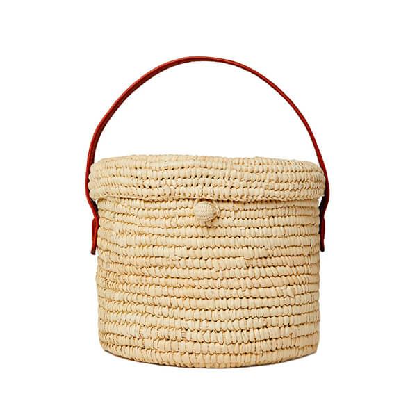 Sensi Studio Mini Round Canasta Handbag