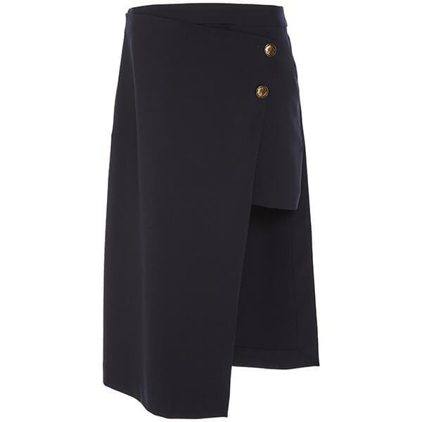 Monse Wool Pencil Mini Skirt