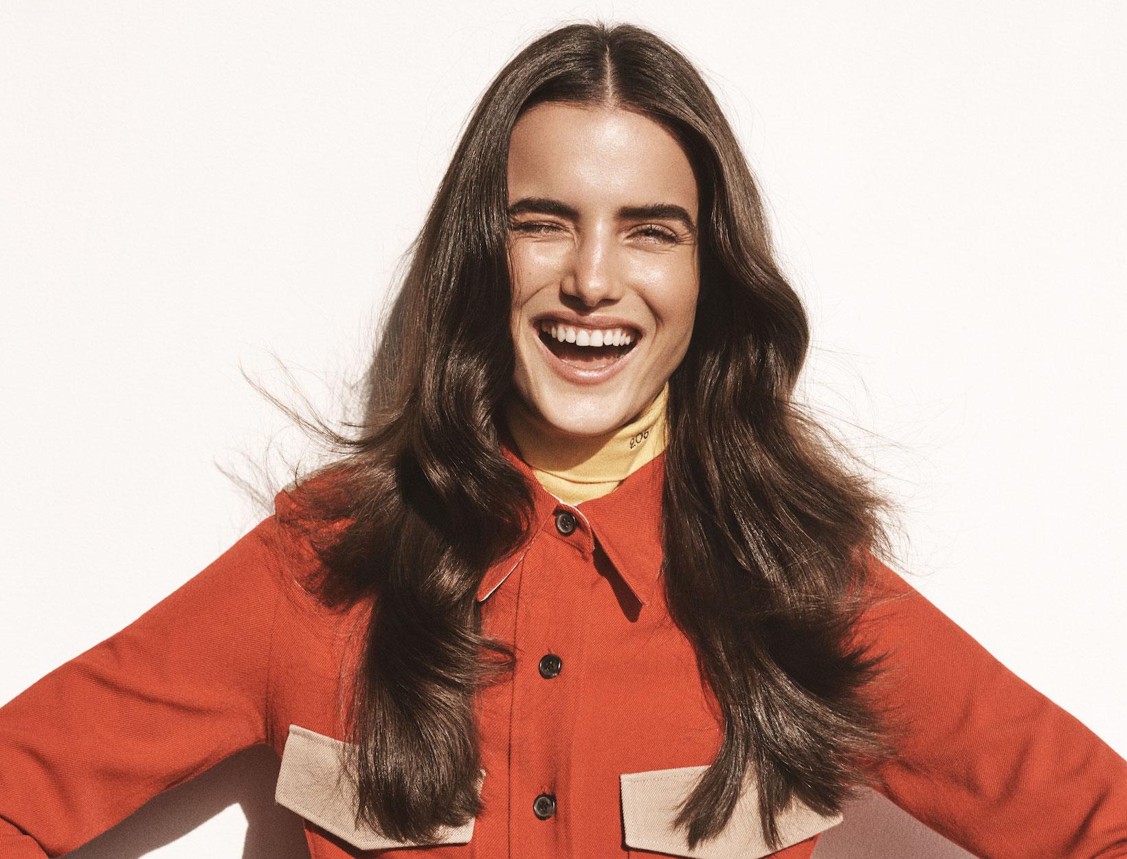 Secret to Super Shiny Hair
