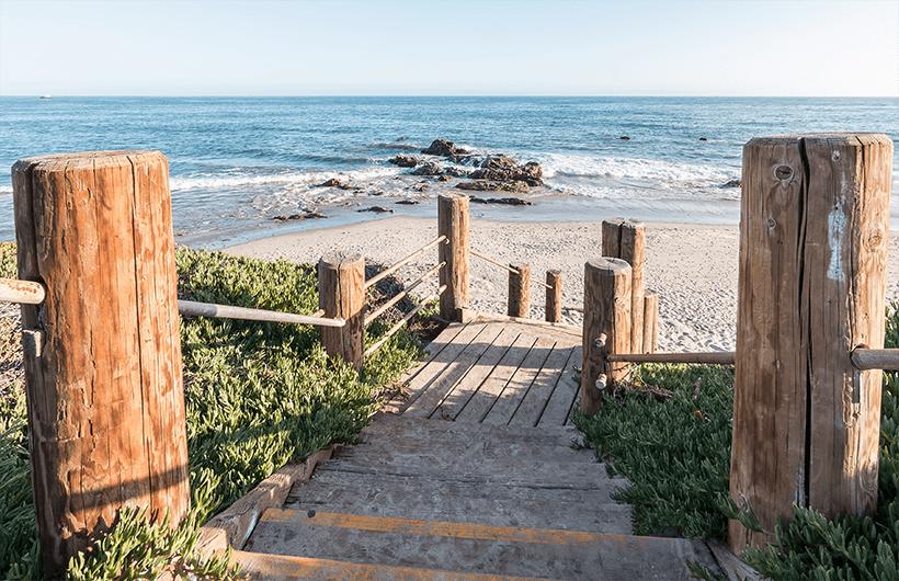 Carpinteria State Beach Santa Barbara California