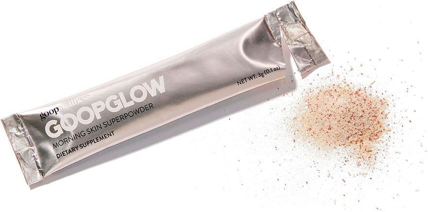 goopglow satchet powder