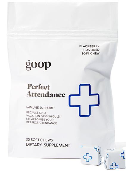 goop Wellness Perfect Attendance