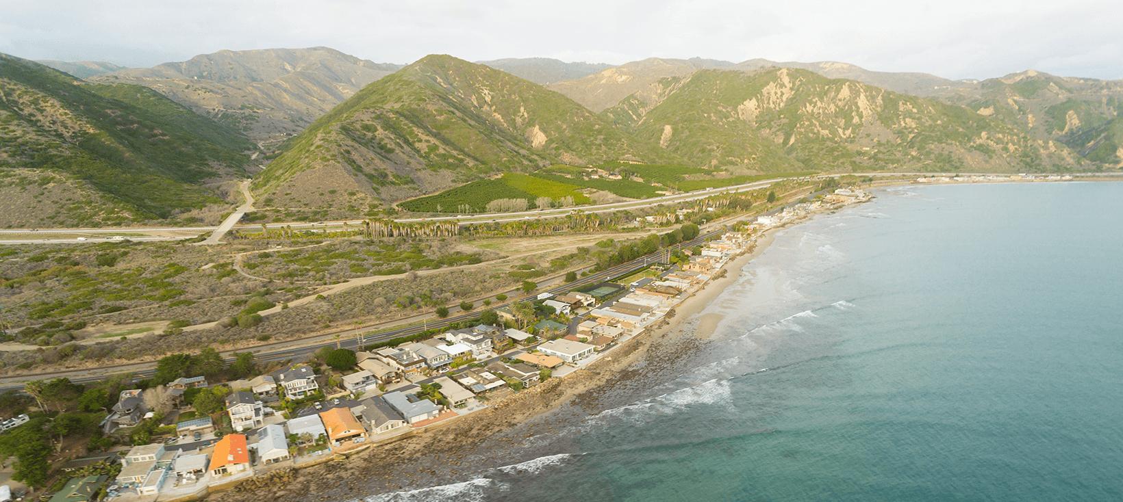 Santa Barbara Coastline, California