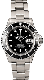 Bob's Watches Stainless Steel Rolez Submariner 16610