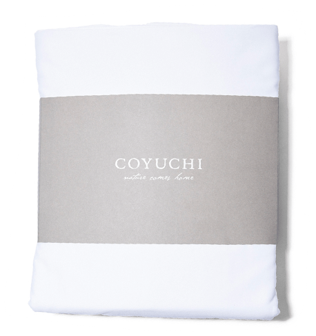 Coyuchi Organic Sateen Sheet Set Alpine White