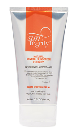 SUNTERGRITY Sunscreen
