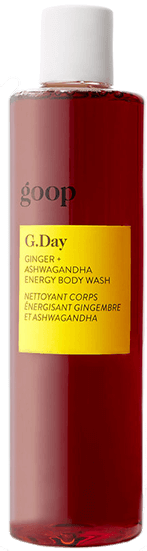 goop G. Day Ginger Ashwagandha Energy Body Wash