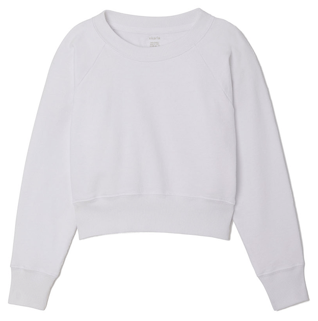 Hanes x Karla The Crop Sweatshirt