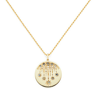 Venyx Aton Lucky Coin Necklace