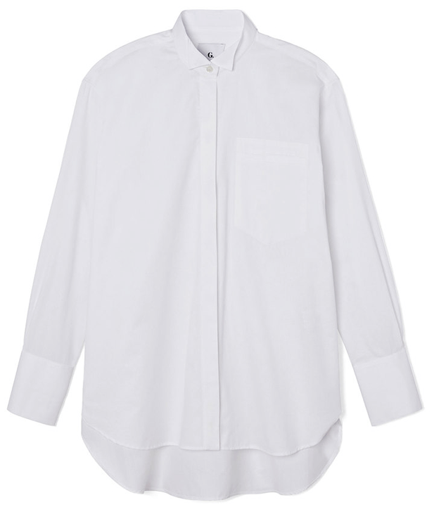 g. label ali oversize tux shirt