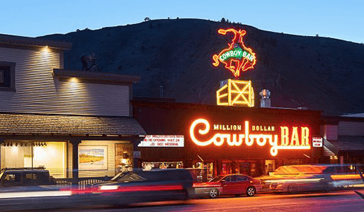 Million Dollar Cowboy Bar  Jackson Hole
