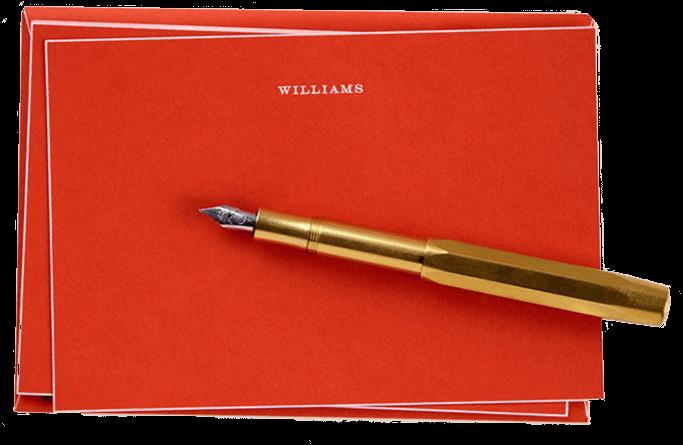 Raw Brass Fountain Pen