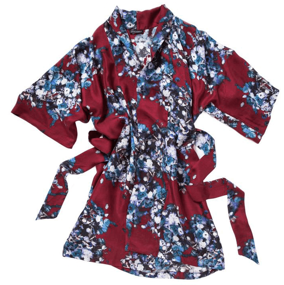 Stevie Howell silk robe