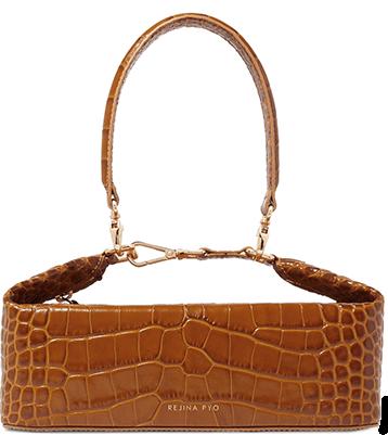 Regina Pyo Olivia Croc Effect Leather Tote