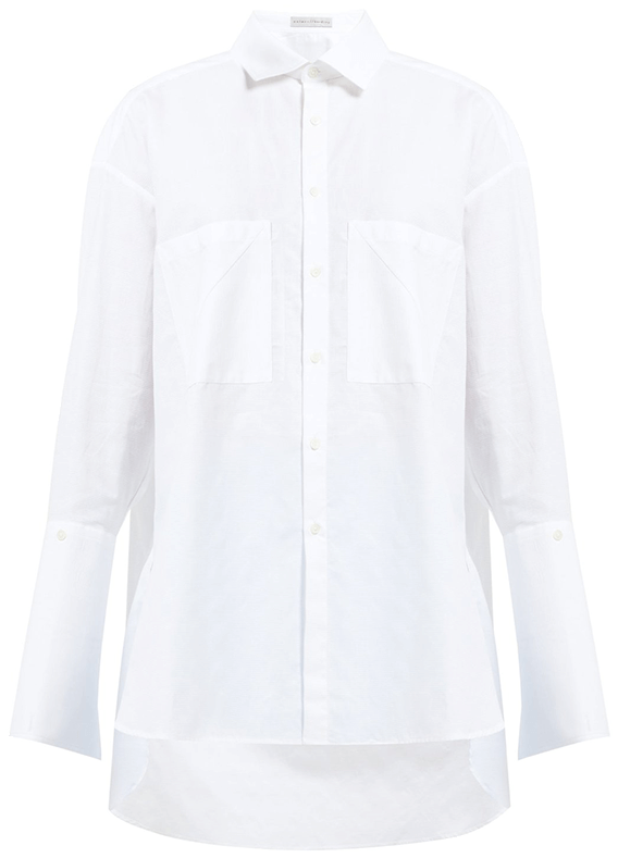 Palmer Harding Boyfriend Oversized Cotton Shirt