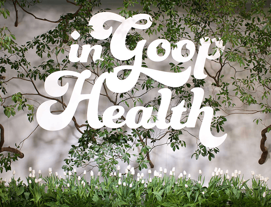 In Goop Health Sign