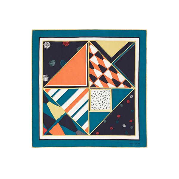 Lafayette 148 Artistic Kaleidoscope Mini Scarf