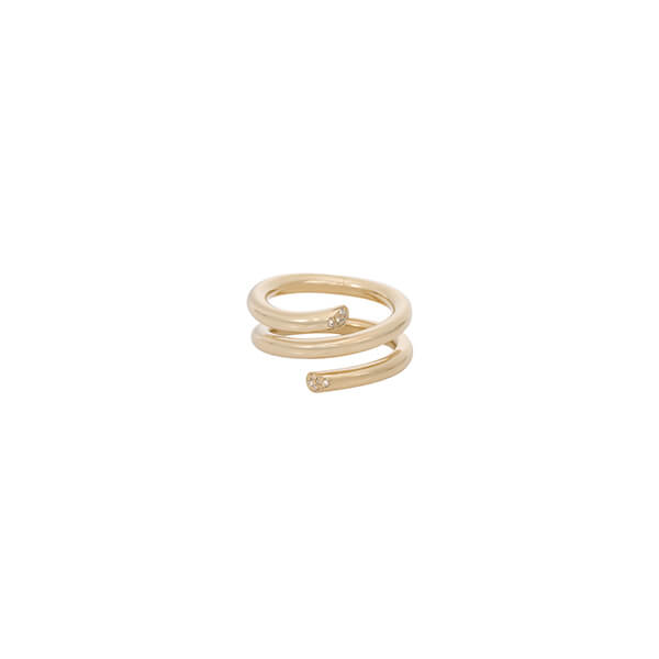 Ariel Gordon Pave Spring Ring