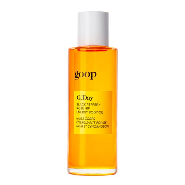 Goop Pepper and rose hip body oil
