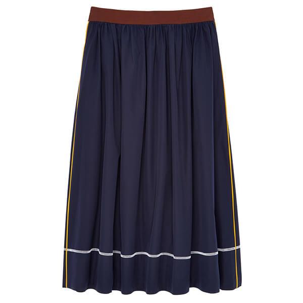Marni A-Line Poplin Skirt