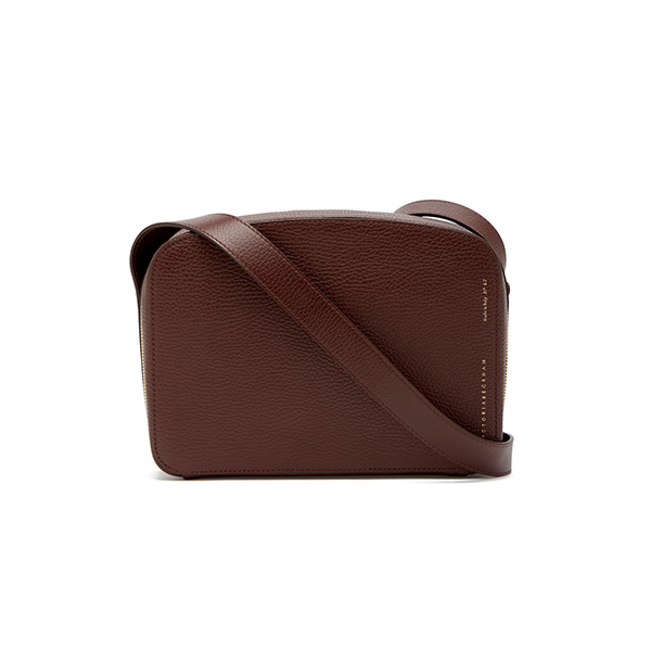 Victoria Beckham Camera Suede Crossbody Bag