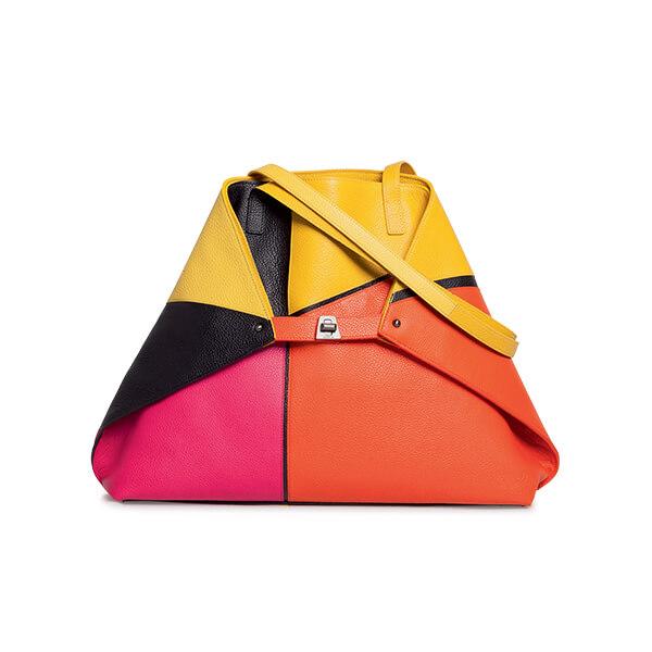 Akris Medium shoulder bag sunrise patchwork