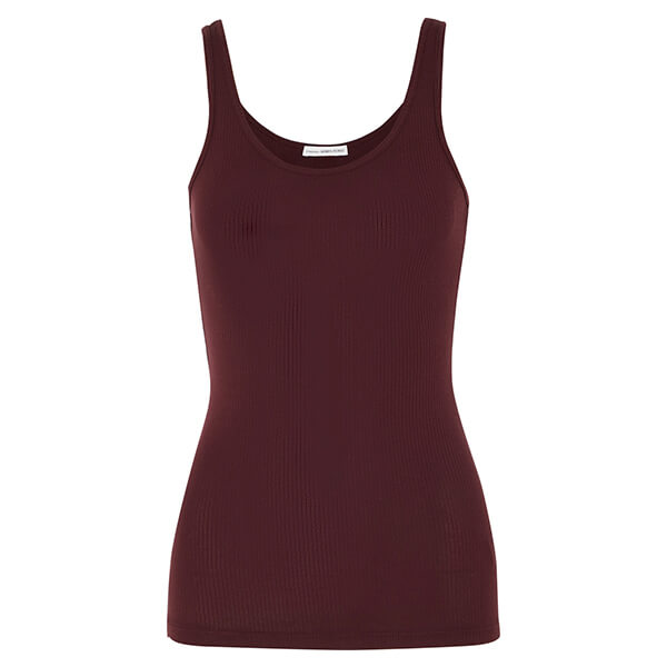 James Perse the Daily Ribbed Stretch Supima Cotton Jersey Tank