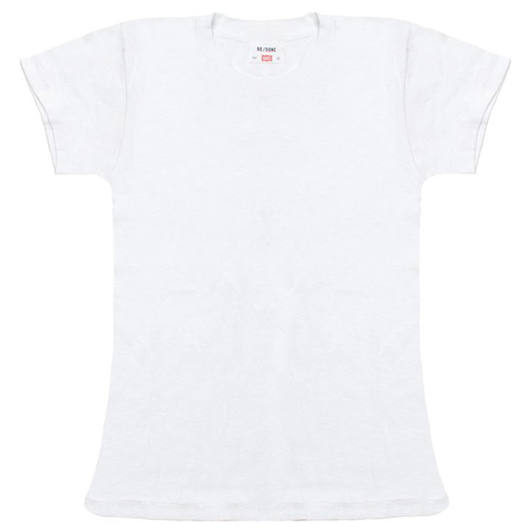 RE/DONE White TEE