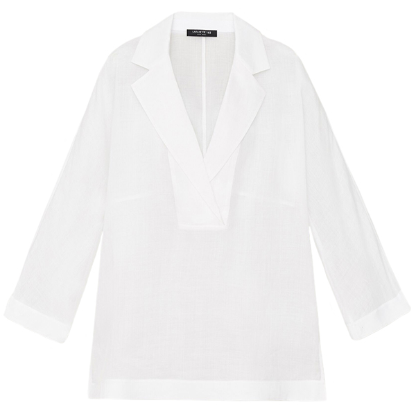 Lafayette 148 Gemma Cloth Jane Blouse
