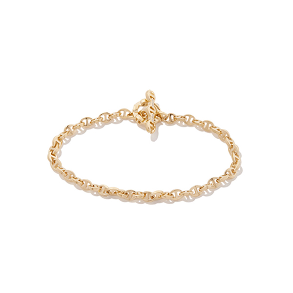 HOORSENBUHS open-link diamond toggle bracelet