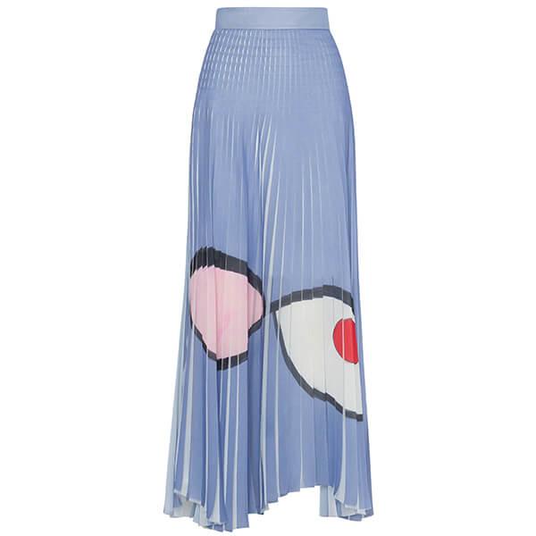 Akris Wink Print Wink Skirt