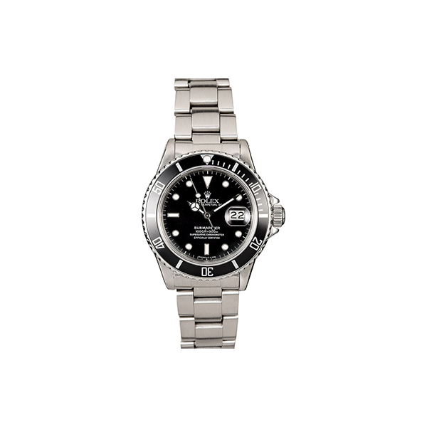 Bob's Watches Stainless Steel Rolex Submariner 16610
