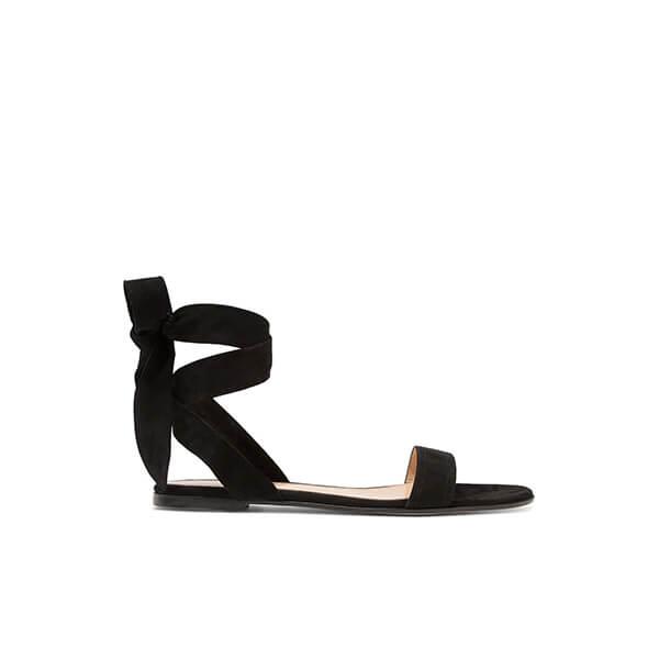 Gianvito Rossi Suedo Sandals