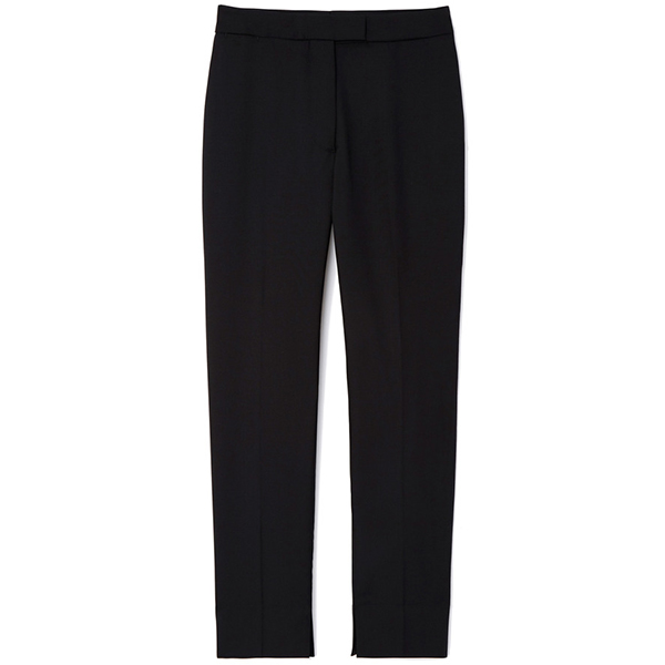 Officine Generale Marion Italian Wool Satin Pants