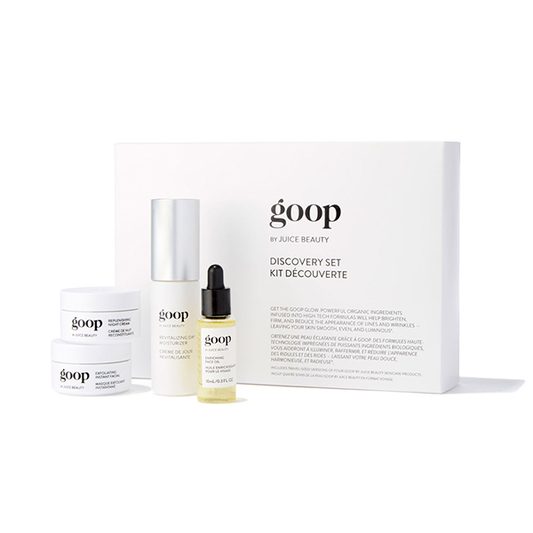 GOOP BY JUICE BEAUTY discovery set