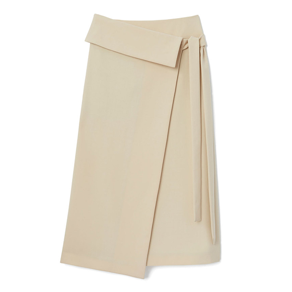 Joseph Finch Wool Stretch Skirt