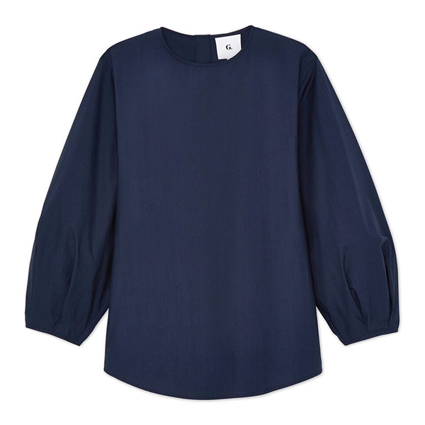 G. Label Kalinsky Bubble Sleeve Blouse
