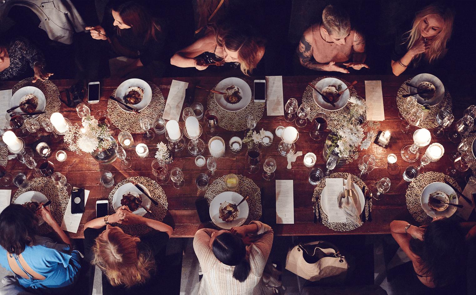 Citizen Mustard Dinner Parties