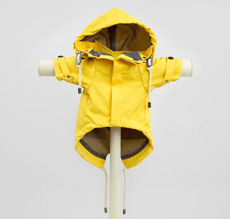 MAX-BONE talon raincoat yellow
