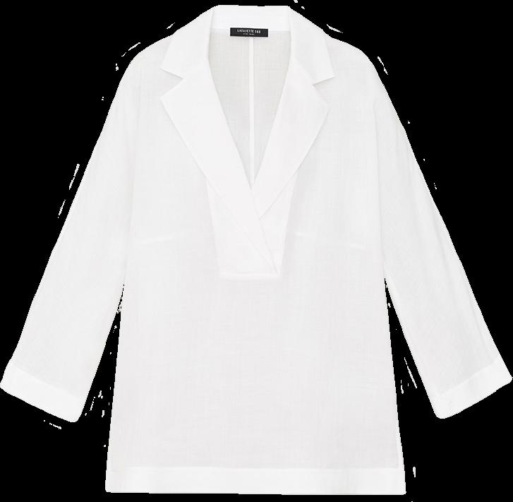 Lafayette 148 Gemma Cloth Jane Blouse