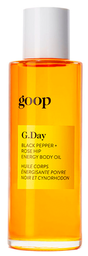 Goop Pepper and rose hip body oil
