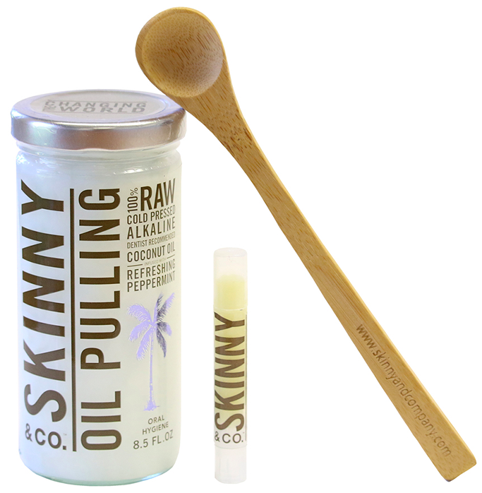 Skinny & Co. OIL PULLING KIT
