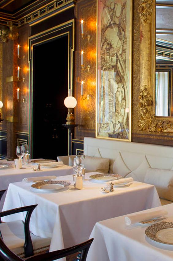Le Gabriel at La Reserve Restaurant Paris France
