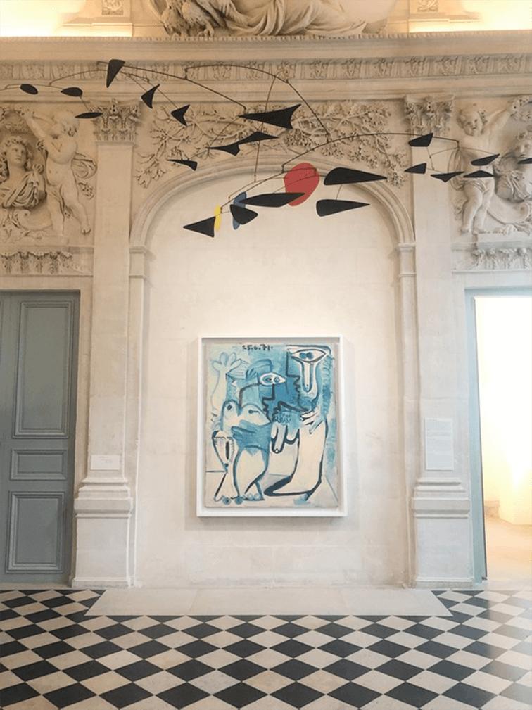 Alexander Calder and Picasso Marais