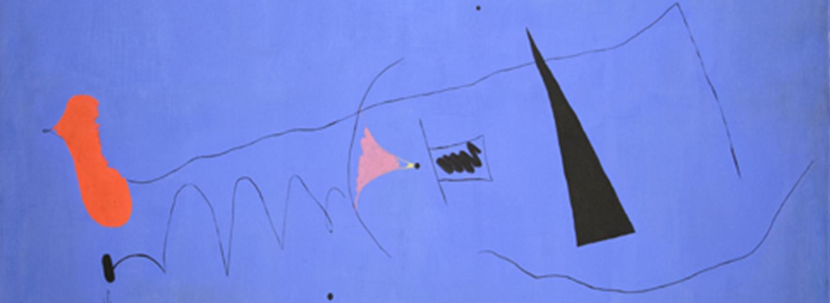 Joan Miró, Étoile Bleue, 1927